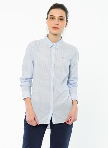 Çizgili Gömlek-Tommy Hilfiger